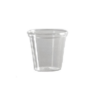 WNA Inc. T5S Comet™ Smooth Wall Clear Plastic Squat Tumblers, 5 Ounce