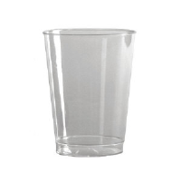 WNA Inc. T9S Comet™ Smooth Wall Clear Plastic Squat Tumblers, 9 Ounce
