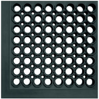 Crown Matting WSCT15BK Safewalk-Light™ 645 3' x 15' Mat