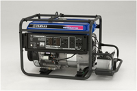 Yamaha YG6600DEJ 6600 Watt Industrial Generator w/ Electric Start, YG6600DE